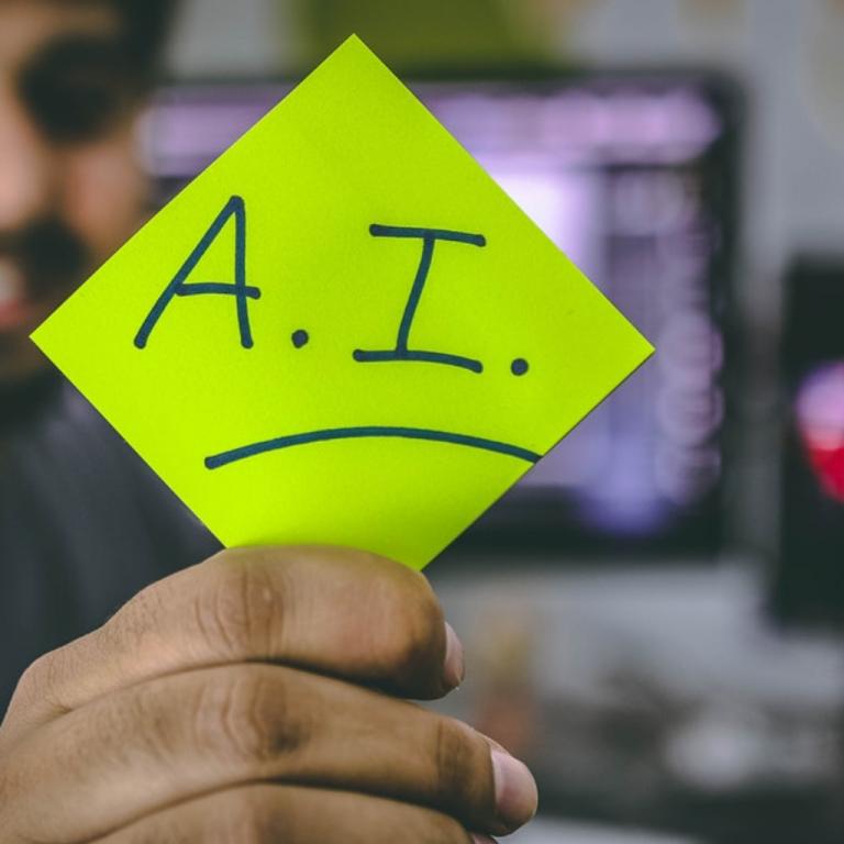 AI and PR image